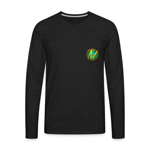TechWorld 360 Youtube Channel Official merchendise - Men's Premium Long Sleeve T-Shirt