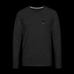 Sector 6 Intelligence Insignia - Men's Premium Long Sleeve T-Shirt