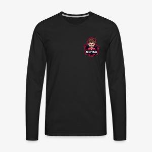 R3FluX's Logo - Men's Premium Long Sleeve T-Shirt
