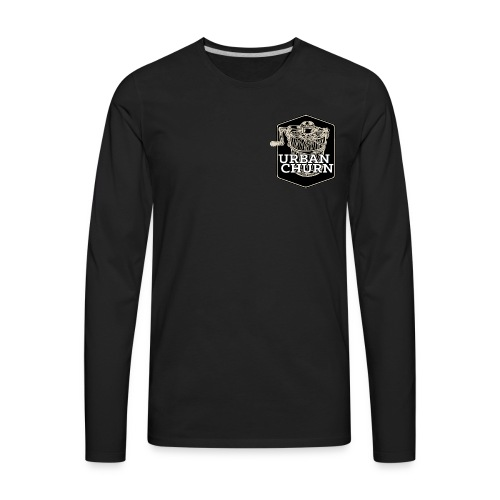 Urban Churn - Men's Premium Long Sleeve T-Shirt