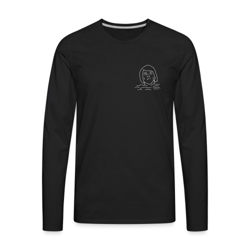 'swimmin' - Men's Premium Long Sleeve T-Shirt