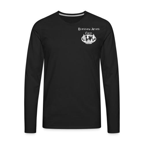 Blessed Acres Farm - Men's Premium Long Sleeve T-Shirt