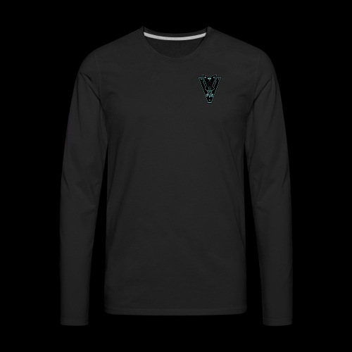 Sector 6 Intelligence Insignia - Men's Premium Long Sleeve T-Shirt