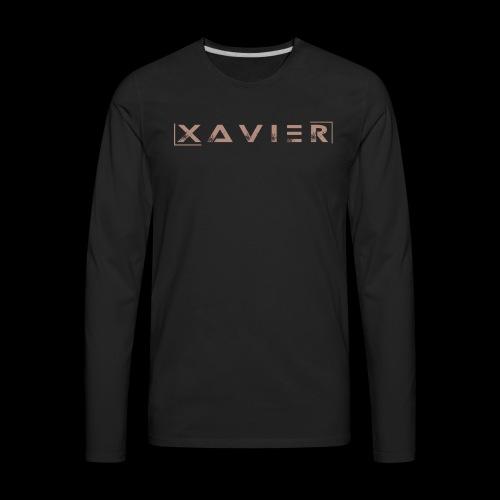XAVIER GOLD EDITION - Men's Premium Long Sleeve T-Shirt