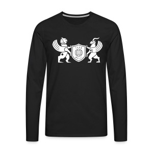 Iran lion & griffin - Men's Premium Long Sleeve T-Shirt
