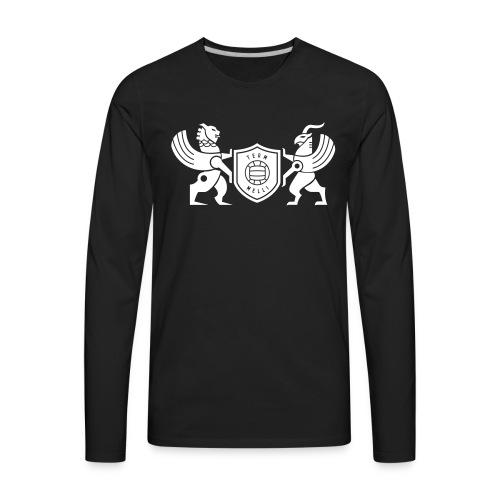 Iran lion & griffin - Men's Premium Long Sleeve T-Shirt