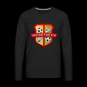 Big Logo - Men's Premium Long Sleeve T-Shirt