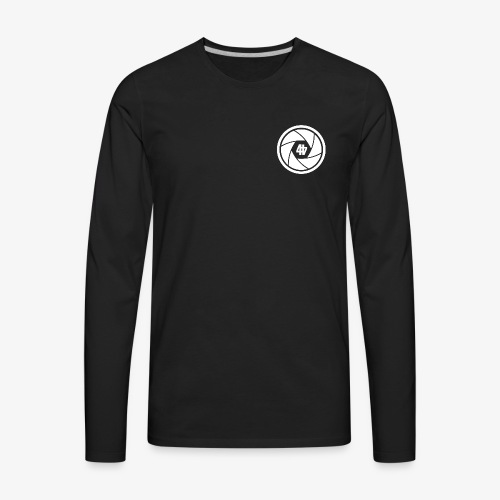 44 Shutterz Logo - Men's Premium Long Sleeve T-Shirt