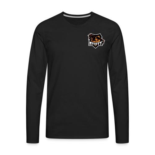 Myisty logo - Men's Premium Long Sleeve T-Shirt