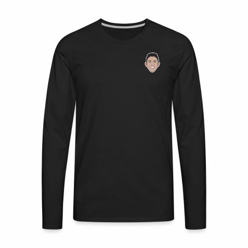 Cartoon Jake Head - Men's Premium Long Sleeve T-Shirt