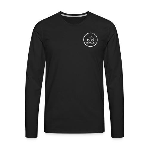 Hexkore Light Logo - Men's Premium Long Sleeve T-Shirt