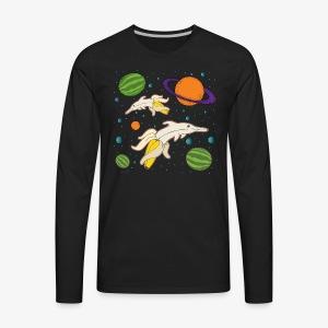 DOLPHANNA - Men's Premium Long Sleeve T-Shirt