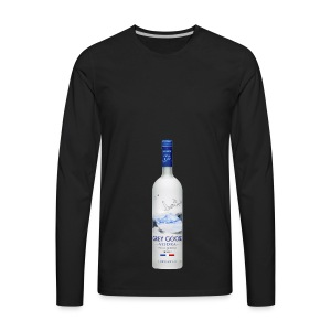 Grey Goose - Men's Premium Long Sleeve T-Shirt
