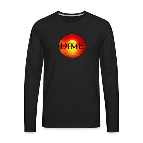 Dime® Sunset - Men's Premium Long Sleeve T-Shirt