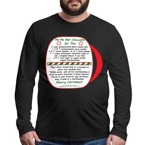Hot Chocolate - Men's Premium Long Sleeve T-Shirt
