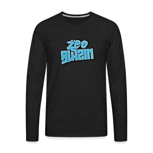 zeoblazin 2017 - Men's Premium Long Sleeve T-Shirt