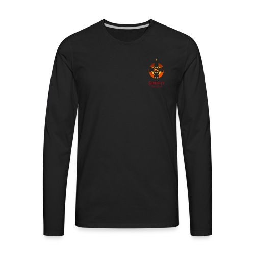 Serenity Logo - Men's Premium Long Sleeve T-Shirt