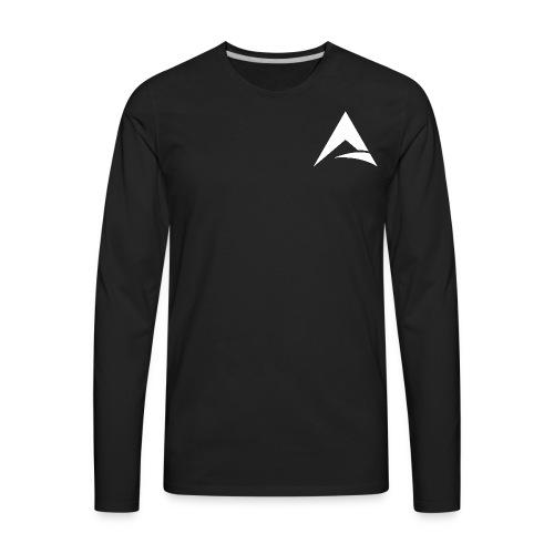 Official FlipArtz A Logo - Men's Premium Long Sleeve T-Shirt