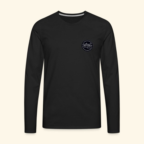 west2 surf - Men's Premium Long Sleeve T-Shirt