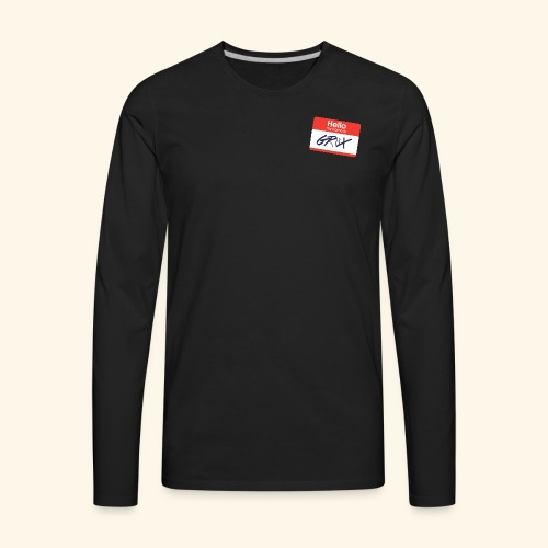 NameTag - Men's Premium Long Sleeve T-Shirt