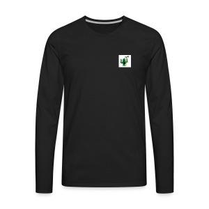 mr. snuggle - Men's Premium Long Sleeve T-Shirt