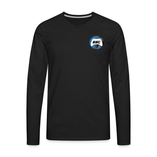 Esports Challenger Logo Wear - Men's Premium Long Sleeve T-Shirt