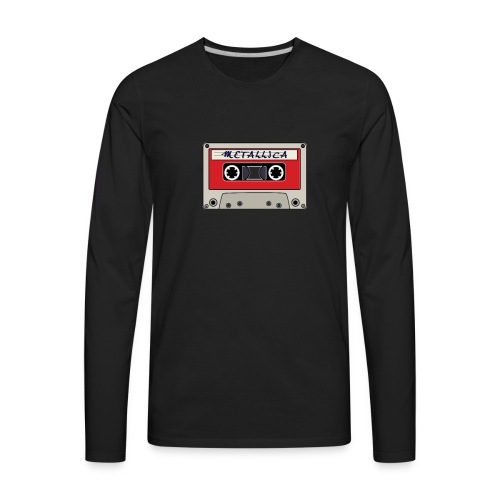 VINTAGE CASSETTE TAPE - Men's Premium Long Sleeve T-Shirt