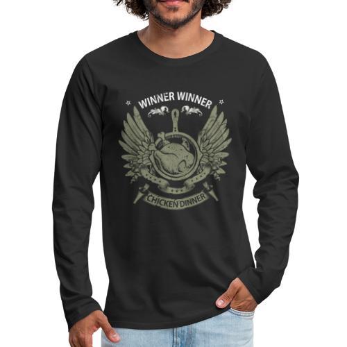 PUBG Pioneer Shirt - Premium Design - Men's Premium Long Sleeve T-Shirt
