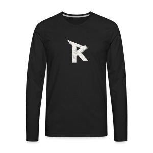 RaDe Militia Logo - Men's Premium Long Sleeve T-Shirt