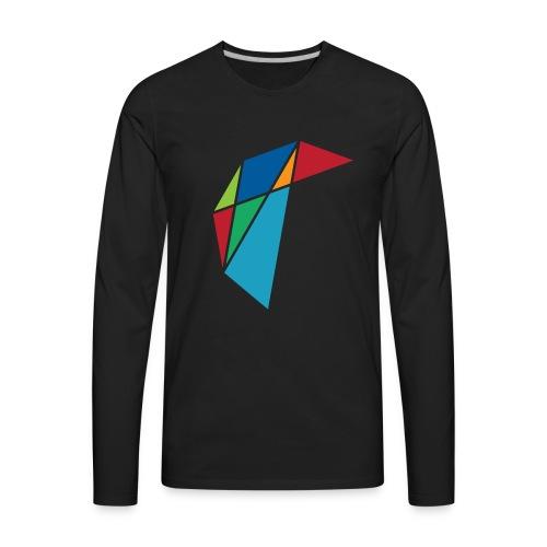 GLARE Logo - Men's Premium Long Sleeve T-Shirt