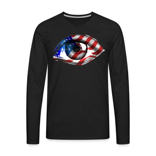 American Eye - Men's Premium Long Sleeve T-Shirt
