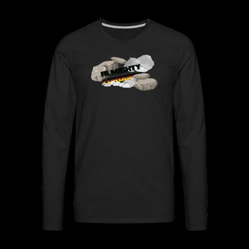 LordGeekRubble - Men's Premium Long Sleeve T-Shirt