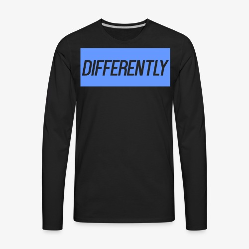 Differently Large Bogo - Men's Premium Long Sleeve T-Shirt