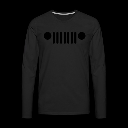 Jeep Grille - Men's Premium Long Sleeve T-Shirt