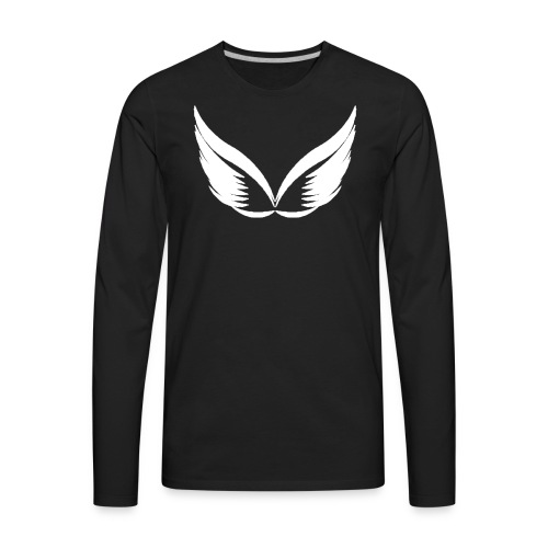 Original G Team White Logo - Men's Premium Long Sleeve T-Shirt