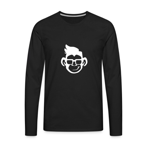 cool monkey - Men's Premium Long Sleeve T-Shirt