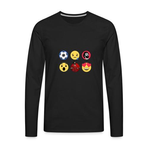 Salah Reactions - Men's Premium Long Sleeve T-Shirt