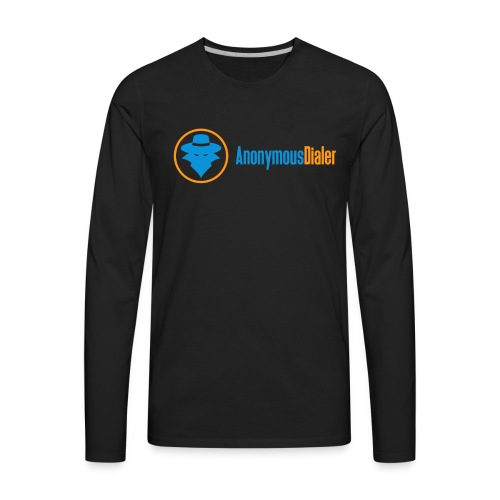 Anonymous Dialer Apparel - Men's Premium Long Sleeve T-Shirt