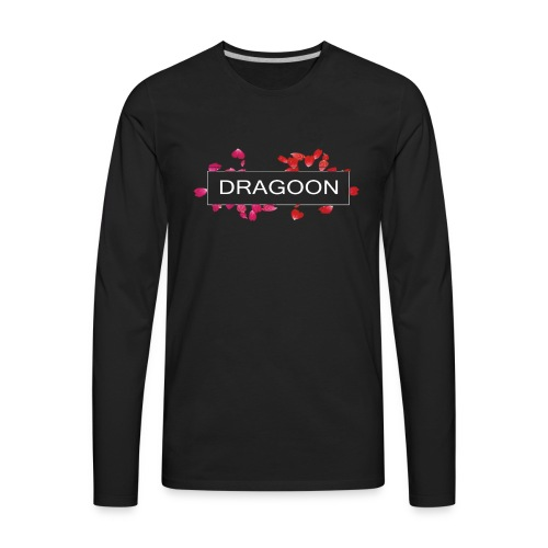 Dragoon Rose Logo - Men's Premium Long Sleeve T-Shirt