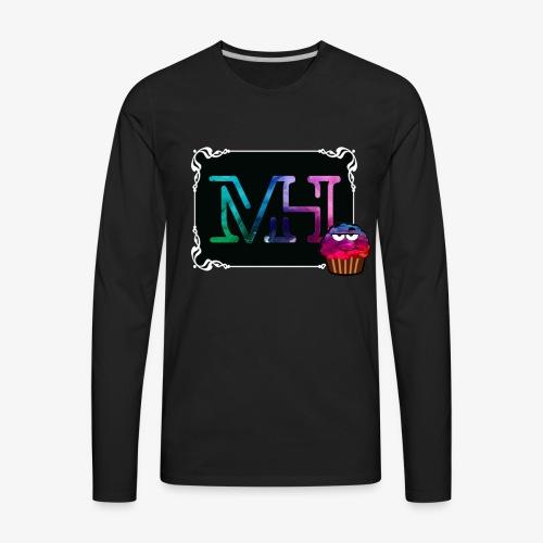 mh vlog2.4 - Men's Premium Long Sleeve T-Shirt