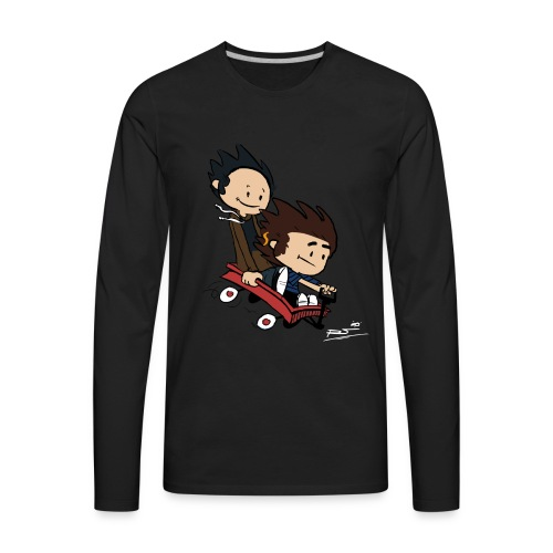 Ryan and William print - Men's Premium Long Sleeve T-Shirt