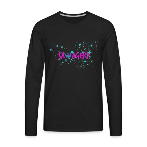 Savagery Merch - Men's Premium Long Sleeve T-Shirt