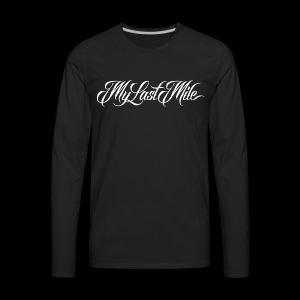 My Last Mile Merch - Men's Premium Long Sleeve T-Shirt