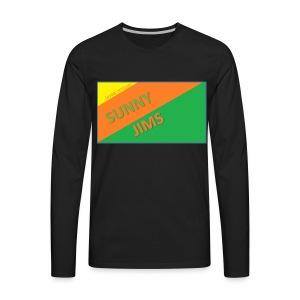Sunny Jims YouTube Shirt Hoodie (Official) - Men's Premium Long Sleeve T-Shirt