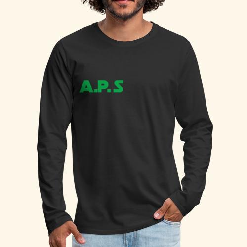 APS Green - Men's Premium Long Sleeve T-Shirt