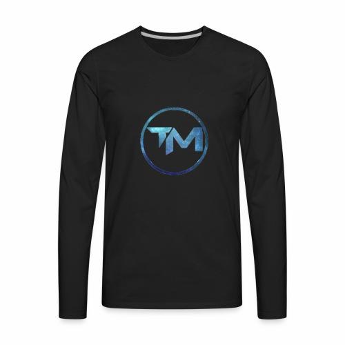 TechMedia Logo Merch - Men's Premium Long Sleeve T-Shirt