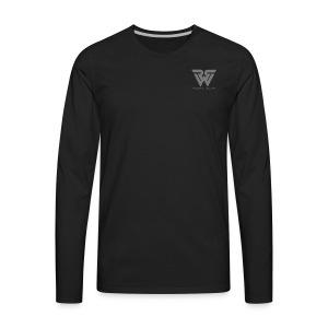 REBEL LOGO - Men's Premium Long Sleeve T-Shirt