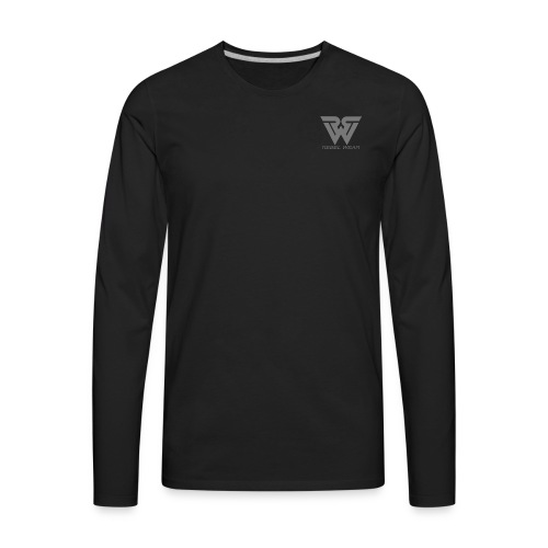 REBEL LOGO - Men's Premium Long Sleeve T-Shirt