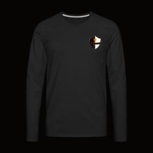 Beyond Earth Gaming Logo - Men's Premium Long Sleeve T-Shirt