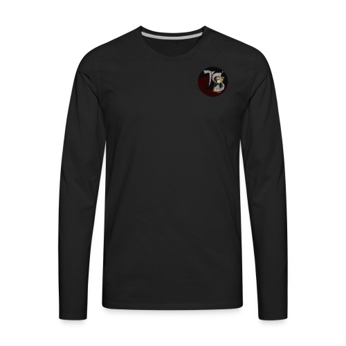 Time Spill Trademark - Men's Premium Long Sleeve T-Shirt